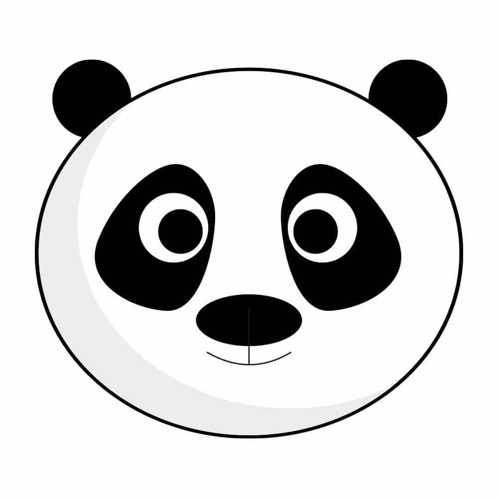 "Логотип Языкового Центра ""ПАНДА"""